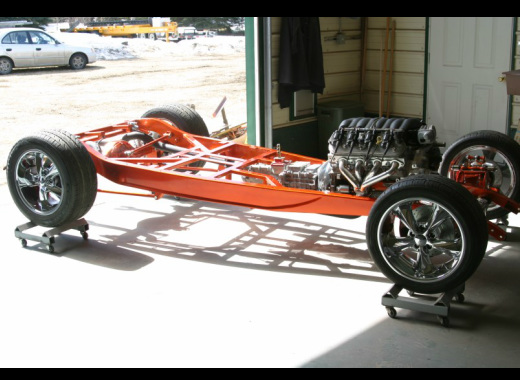 Chassis and frames for 1932 and 1934 Fords - RAVON STREETRODS
